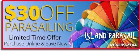 Ocean City Parasailing Coupon 30 Dollars Off