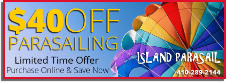 Ocean City Parasailing Coupon 40 Dollars Off