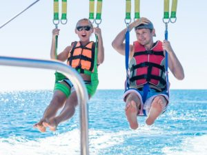 Parasailing in Ocean City Maryland